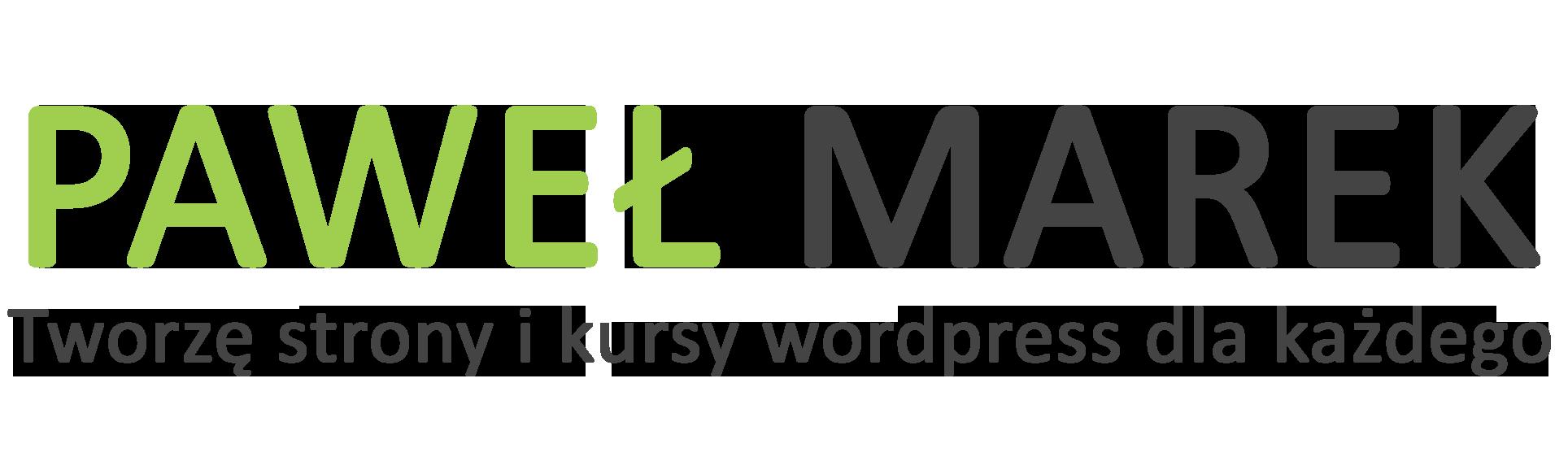 Tworzę strony internetowe i kursy WordPress dla każdego