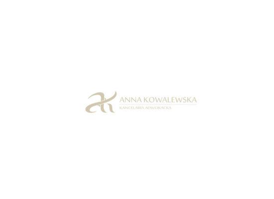 Logo - kolor - Anna Kowalewska - Adwokat