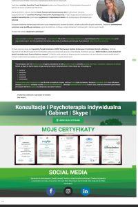 Projekt energiazyciowa.pl Gabinet psychoterapii Ewa Janasz